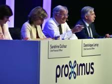 """Dominique Leroy regrette la """"perception qui a été créée"""" par la vente de ses actions Proximus"""