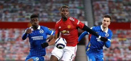 United knokt zich met invaller Van de Beek nog langs Veltman en Brighton