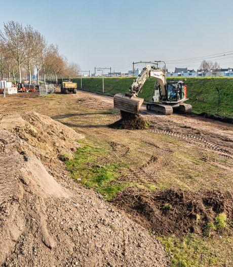 Aanleg 12 kilometer snelfietsroute Breda-Tilburg is begonnen, maar het duurt nog tot 2025 voordat alles klaar is