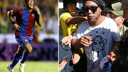 Ooit 's werelds beste voetballer, nu financieel helemaal aan de grond: de teloorgang van Ronaldinho, de man die in principe nog 90 miljoen euro waard is