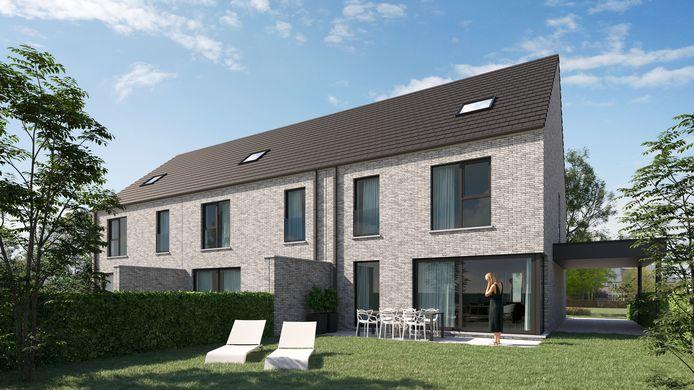 Zo kan jouw woning in de Eugène Ysayestraat langs de tuinzijde eruit komen te zien.