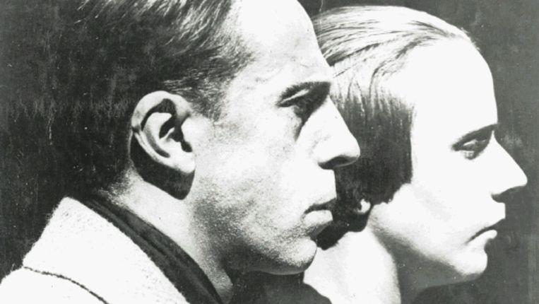 Theo en Nelly van Doesburg, 1921 (Trouw) Beeld