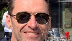 Hugh Jackman is in Antwerpen, drinkt pintjes én spreekt Nederlands