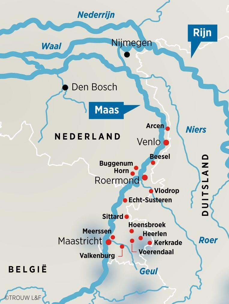 Hoogwater in Nederland. Beeld Louman & Friso