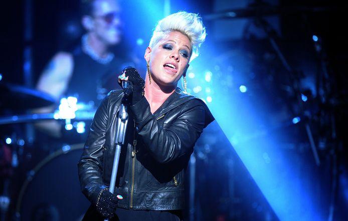 De Amerikaanse zangeres Pink was onder de indruk.