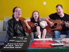 Fans steken Navarone een hart onder de riem met eigen versie van Free Together