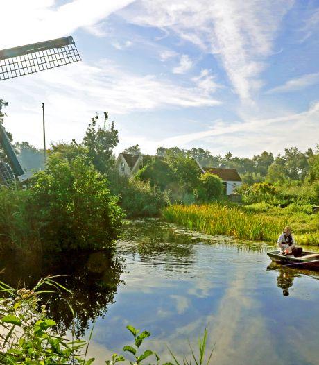 In het hart van Nederland waakt molen De Trouwe Wachter nu over de dagjesmensen