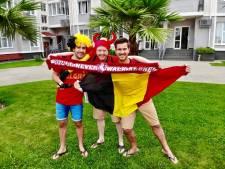 Deze Twentse vrienden vliegen tijdens het WK België achterna