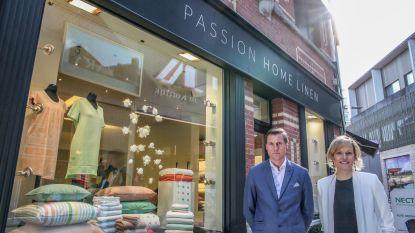 Winkel-wandelgebied verwelkomt Passion Home Linen