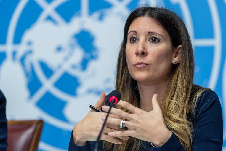 WHO-epidemioloog Maria Van Kerkhove. Beeld AP