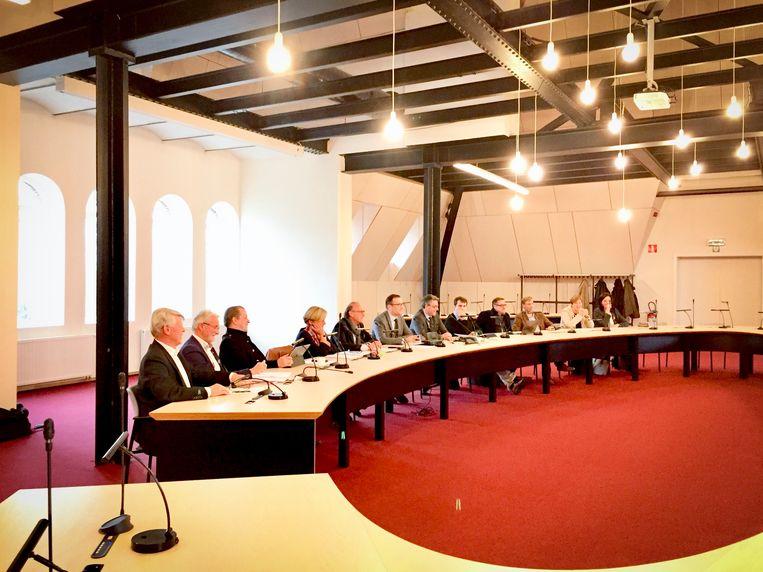 Het Lierse schepencollege lichtte het bestuursakkoord toe.