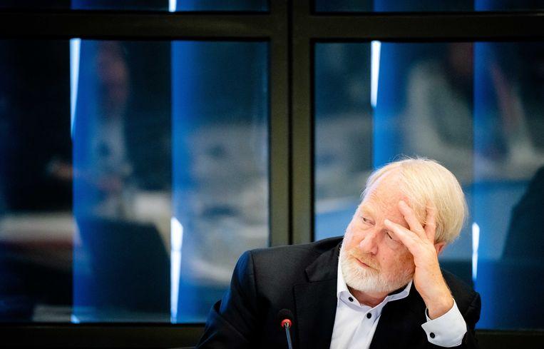 Jaap van Dissel van het RIVM praatte woensdag de Tweede Kamer bij over de ontwikkelingen rond het coronavirus. Beeld ANP