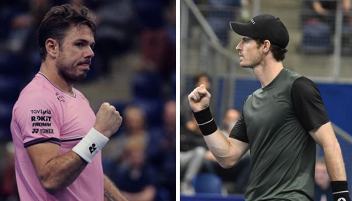 Après Gasquet, Tsonga et Edmund, qui de Wawrinka ou de Murray remportera le tournoi d'Anvers?