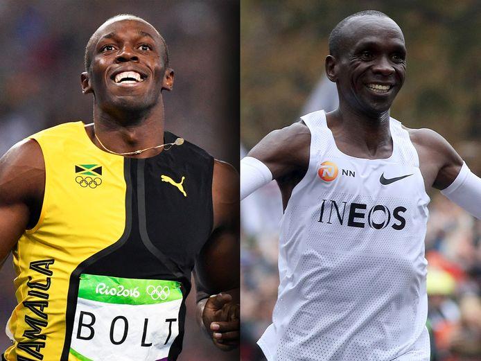 De beste atleet ooit: Usain Bolt of Eliud Kipchoge