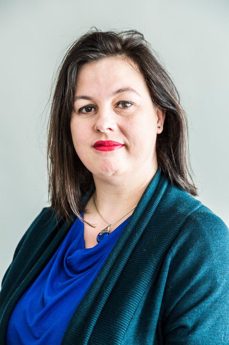 Annabel Nanninga stapt uit Forum voor Democratie. Zij blijft onder eigen vlag actief in de gemeenteraad.  Beeld Tammy van Nerum