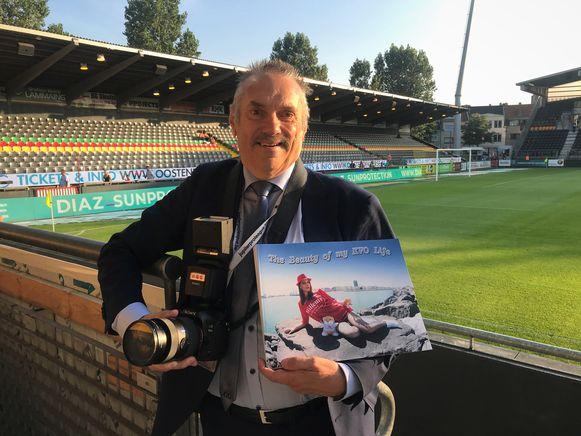 Martin Defour, huisfotograaf van KV Oostende, brengt zijn eigen fotoboek uit met ruim 3.200 foto's van de club.