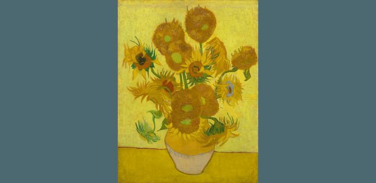 Vincent van Gogh, 'De zonnebloemen'. Beeld RV/ Van Gogh Museum Amsterdam