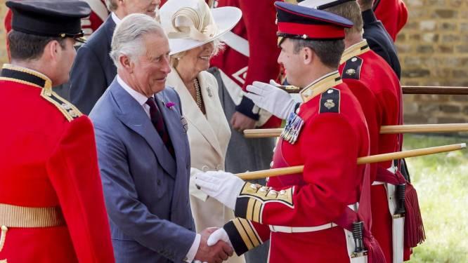 Prins Charles herdenkt slag bij Waterloo