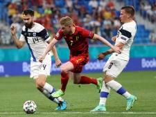 LIVE | België voert druk op tegen Finland, maar creëert weinig kansen
