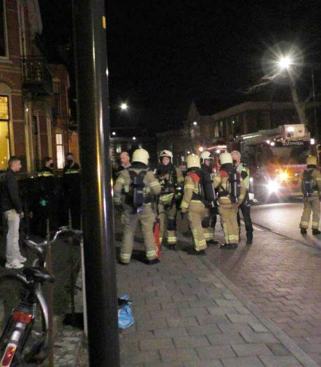 Hulpdiensten rukken uit voor keukenbrand in Zutphen