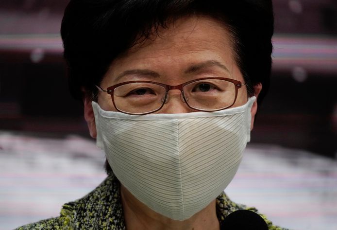 Hongkongse regeringshoofd Carrie Lam.