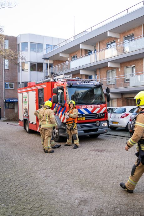 Monteur zwaargewond na brand in verdeelstation wooncomplex: 'Het was vreselijk om te zien'