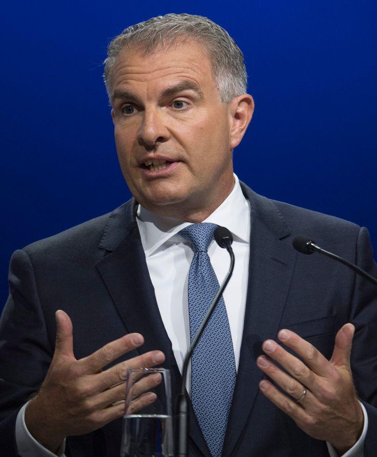 Lufthansa-CEO Carsten Spohr. Beeld DPA