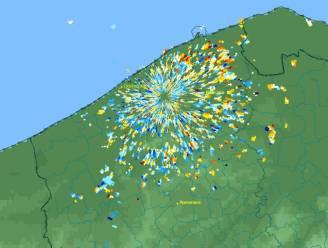 Tijdens eindejaarsvuurwerk barstte de hel los voor de vogels in ons land : radarbeelden tonen hoe ze massaal wegvlogen