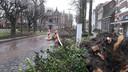Storm hield ook op De Lind in Oisterwijk huis.