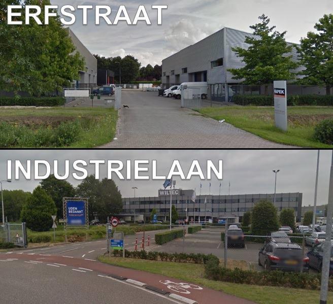 Aan zowel de Erfstraat als de Industrielaan werd deze week ingebroken.
