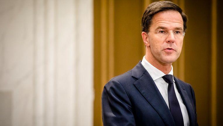 Zeker twee weken heeft Rutte wel nodig om zijn team officieel rond te krijgen Beeld anp