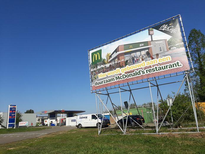 Bij de Tango in Boxmeer komt McDonald's.