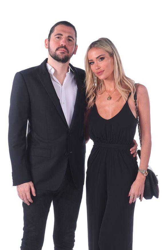 Opvallende aanwezige: dj Dimitri Vegas met zijn vrouw Anouk Matton.