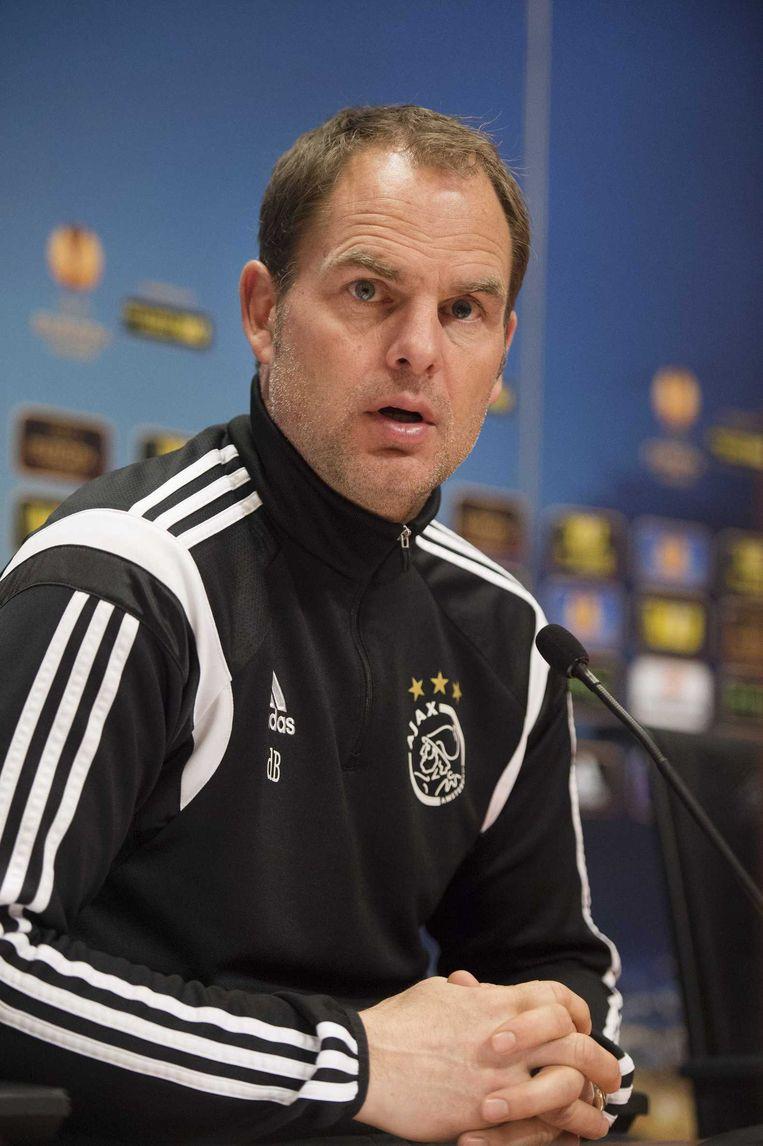 Frank de Boer. Beeld anp
