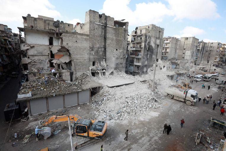 Illustratiebeeld van Aleppo. Beeld AFP