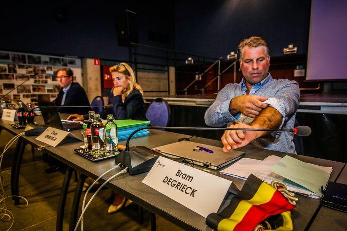 Bram Degrieck (Het Plan-b) is burgemeester af.