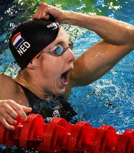 Hoe Marleen Veldhuis zwemkoningin werd in haar Eindhovense thuisbad: 'Orkaan van geluid kwam als deken over me heen'