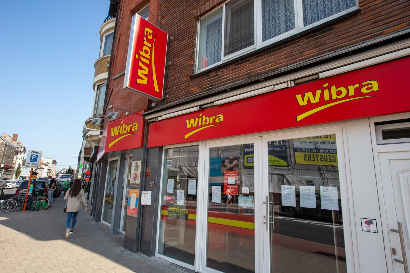 Un magasin Wibra à Gand.