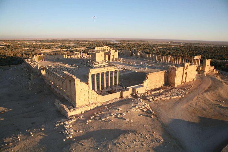 Palmyra, ook wel 'de bruid van de woestijn' genoemd. Beeld afp