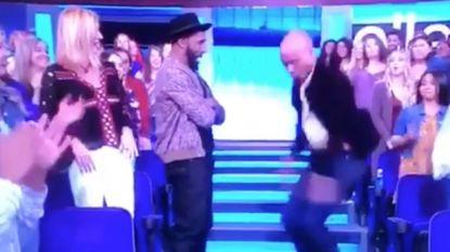 Video: Nederlandse presentator Humberto Tan showt dansmoves in het publiek bij Ellen DeGeneres