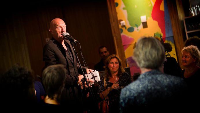 Wilfried de Jong trad op in het KAdE-café.