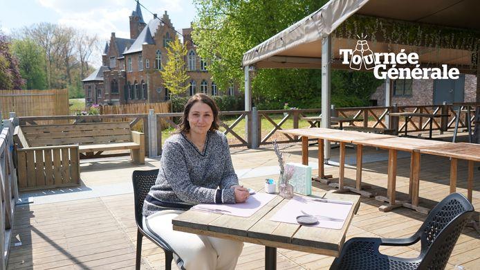 Nadia De Wilde start zaterdag met een nieuwe zomerbar naast het kasteeldomein Wissekerke.