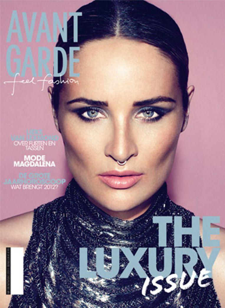 De cover van de laatste editie met Lieke van Lexmond. © AVANTGARDE Beeld