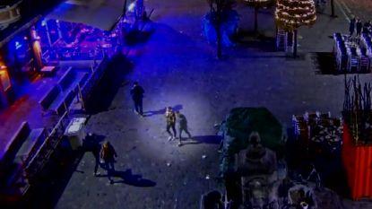 VIDEO. Bewakingsbeelden tonen hoe Leuvense studente achtervolgd wordt tot op haar kot door aanrander