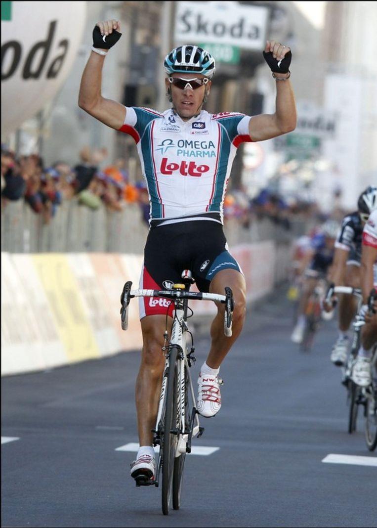Gilbert won donderdag opnieuw de Ronde van Piëmonte. Beeld UNKNOWN
