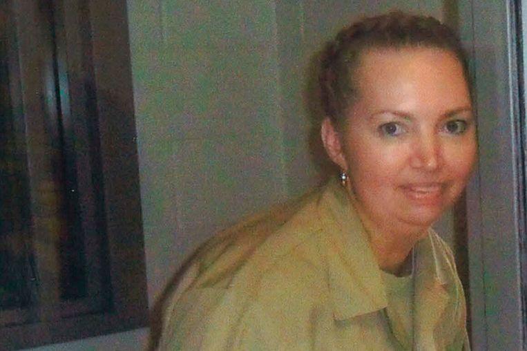 Lisa Montgomery kreeg de doodstraf omdat ze een zwangere vrouw had vermoord.  Beeld AP