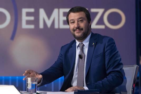 Le Ministre de l'Intérieur, Matteo Salvini