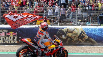 Marquez wint MotoGP in eigen land en neemt leiding over in WK-tussenstand, Siméon wordt 17de