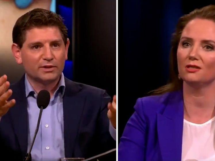 Felle discussie tussen Fleur Agema (PVV) en Jan Paternotte (D66) over vaccinatiepaspoort