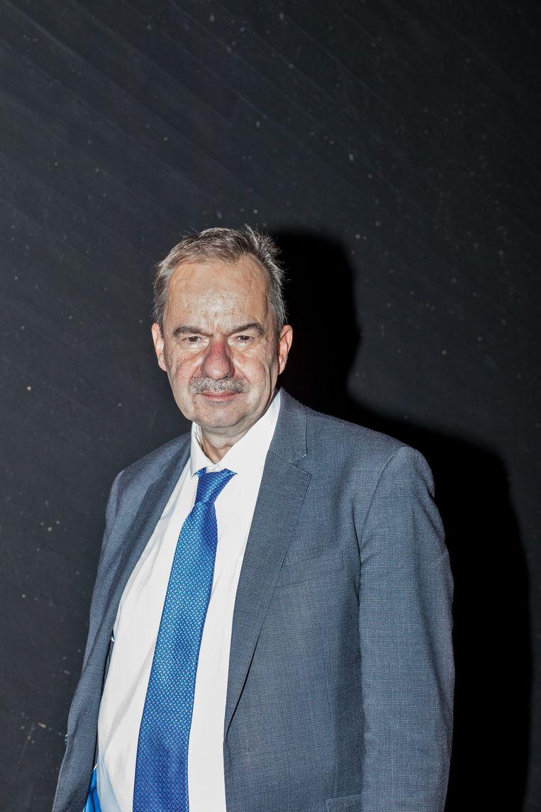 Tom Zwart: 'Het Cornelius Haga Lyceum wint opvallend veel rechts- zaken.'  Beeld Iris Bergman